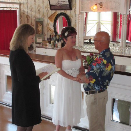 Elopement at the Red Feather Saloon National Historic Site